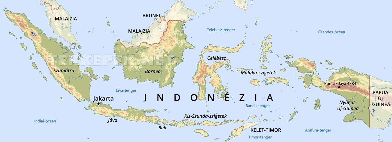 magyarország térkép java Indonézia domborzati térképe magyarország térkép java